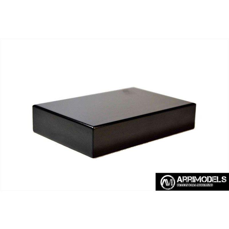 PEANADM LACADO - NEGRO 15x10x3