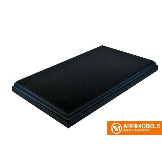 Peana DM Lacado negro 23,5x13,5x2,5