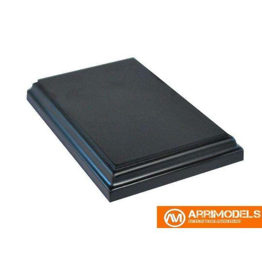 Peana Madera Lacado negro 13x8x1