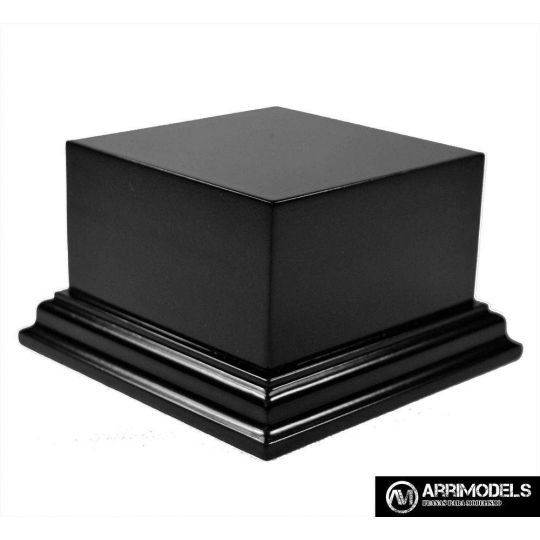 DM LACQUERED - BLACK 8x8x5