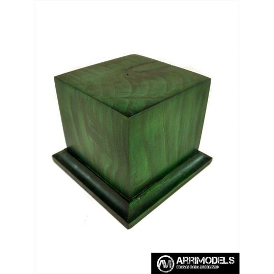 FINISHED IN GREEN 6x6x6
