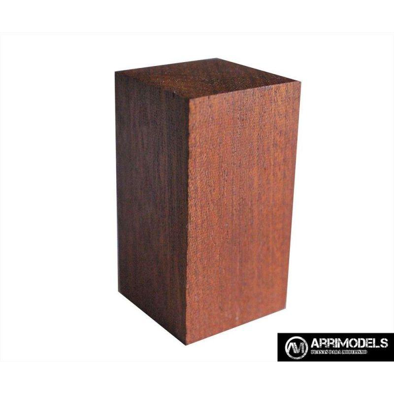 PEANA TACO MADERA - SAPELLY 2,5x2,5x5