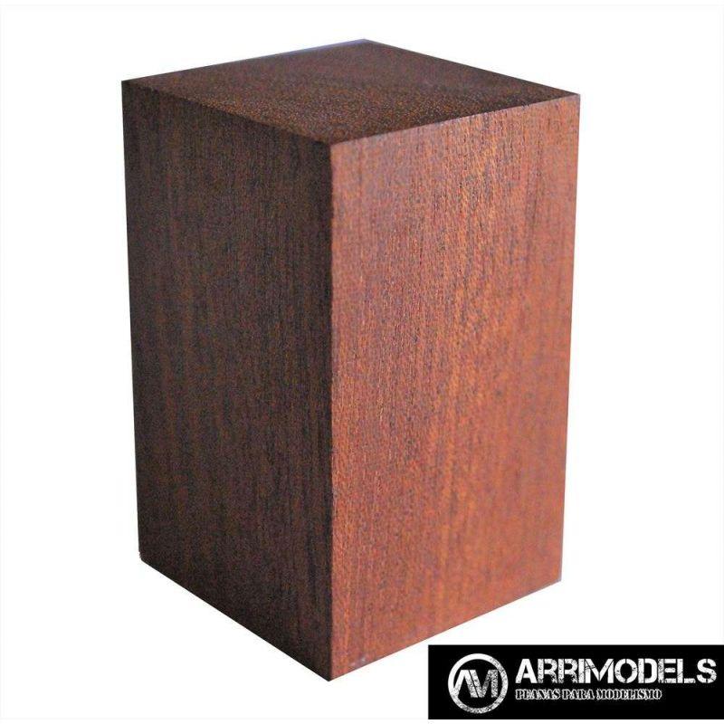 PEANA TACO MADERA - SAPELLY 3x3x5