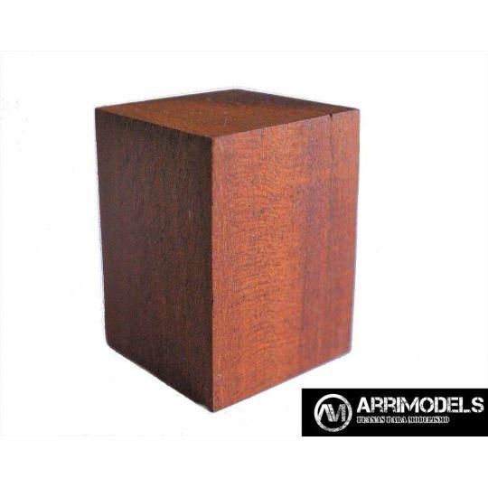 PEANA TACO MADERA - SAPELLY 3,5x3,5x5