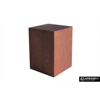 PEANA TACO MADERA - SAPELLY 4x4x5