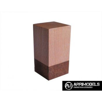 PEANA TACO MADERA - HAYA y SAPELLY 2,5x2,5x5