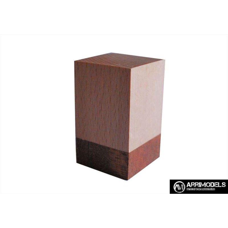 PEANA TACO MADERA - HAYA y SAPELLY 3x3x5