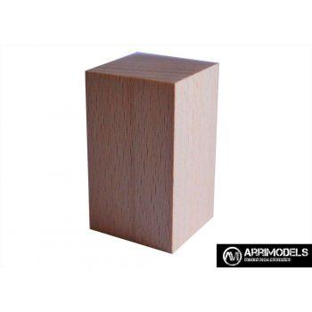 PEANA TACO MADERA - HAYA 3x3x5