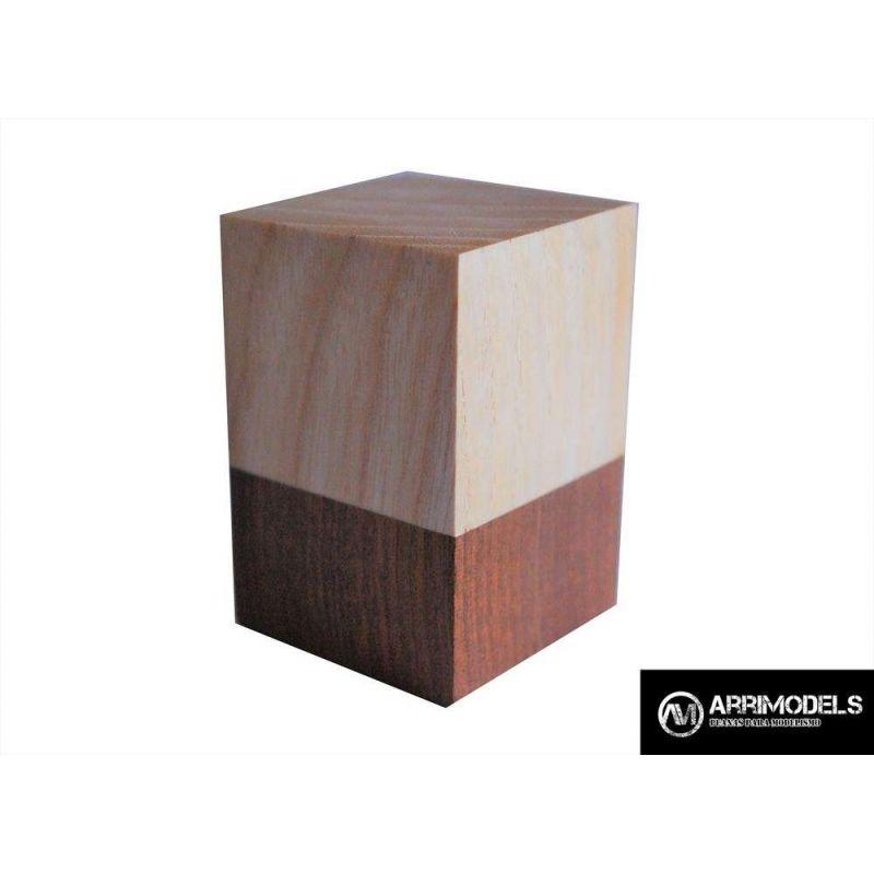 PEANA TACO MADERA - SAPELLY y FRESNO 4x4x6