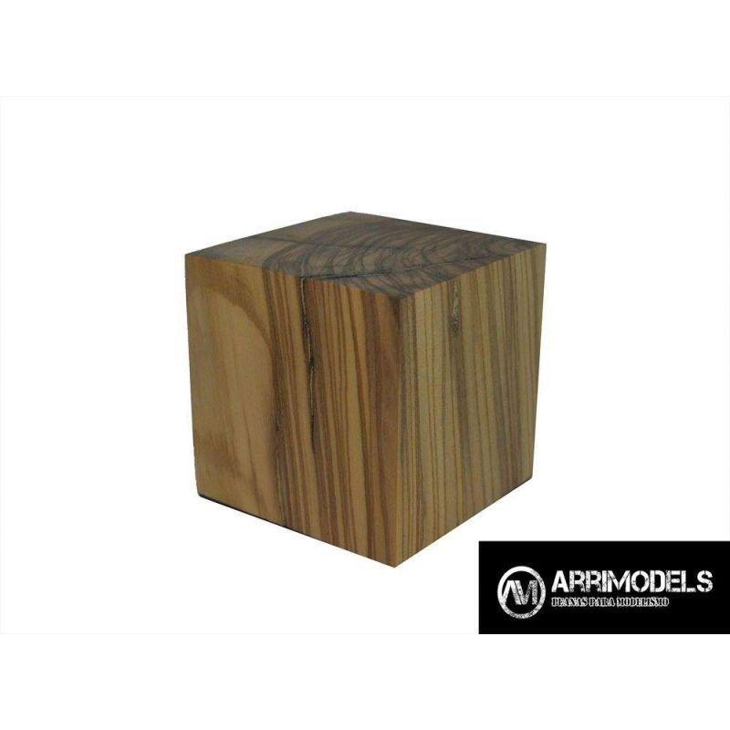 PEANA TACO MADERA - OLIVO 5x5x5