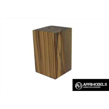 PEANA TACO MADERA - OLIVO 3x3x5