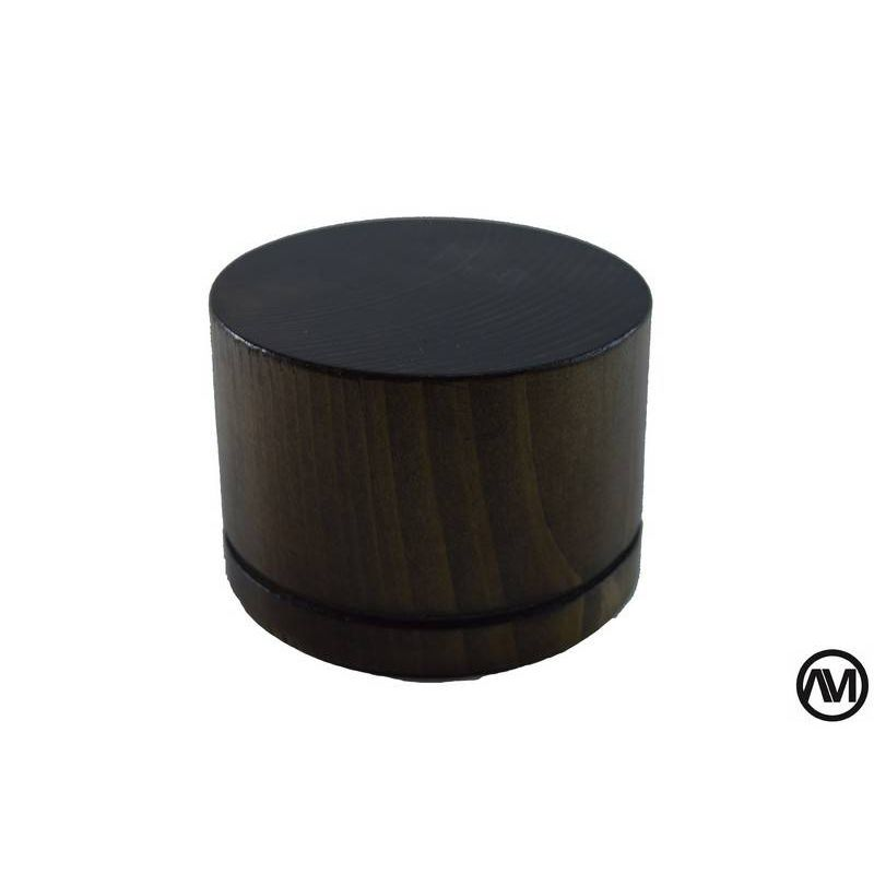 PEANA TACO TRONCO MADERA NOGAL 8,5x6 (DiametroxAlto)