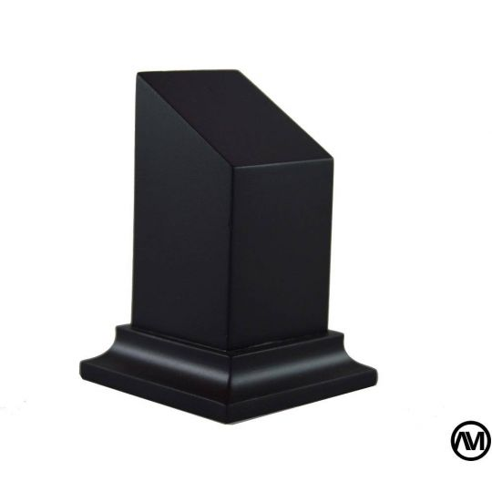 DM LACQUERED BLACK 3X3X7
