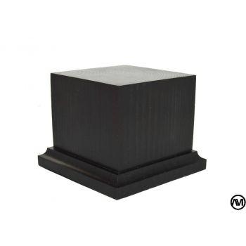 WOOD FINISHED BLACK 8x8x7,5