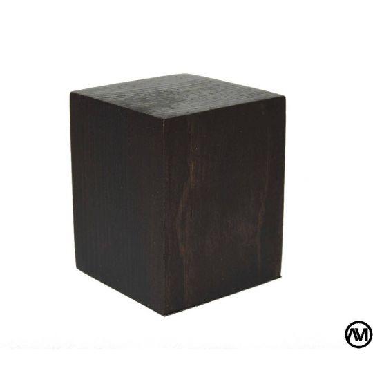 PEANA TACO MADERA ACABADO TABACO 4,5x4,5x5