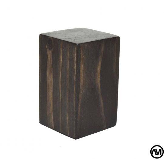 PEANA TACO MADERA ACABADO TABACO 3x3x5