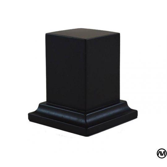 PEANA PEDESTAL DM LACADO - NEGRO 3x3x5