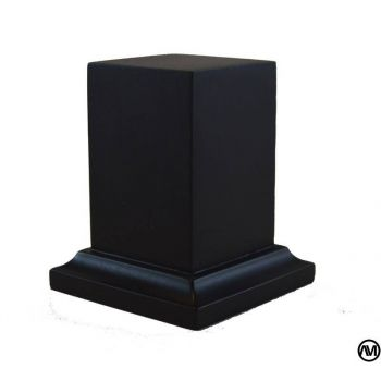 PEANA PEDESTAL DM LACADO - NEGRO 3,5x3,5x6