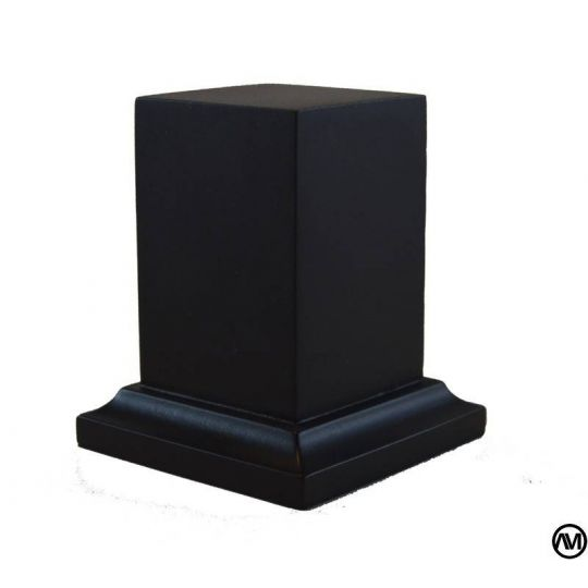 DM LACQUERED - BLACK 3,5x3,5x6