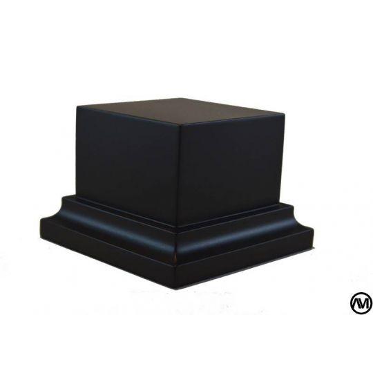 PEANA PEDESTAL DM LACADO - NEGRO 5,5x5,5x5
