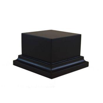 PEANA PEDESTAL DM LACADO - NEGRO 6,5x6,5x5