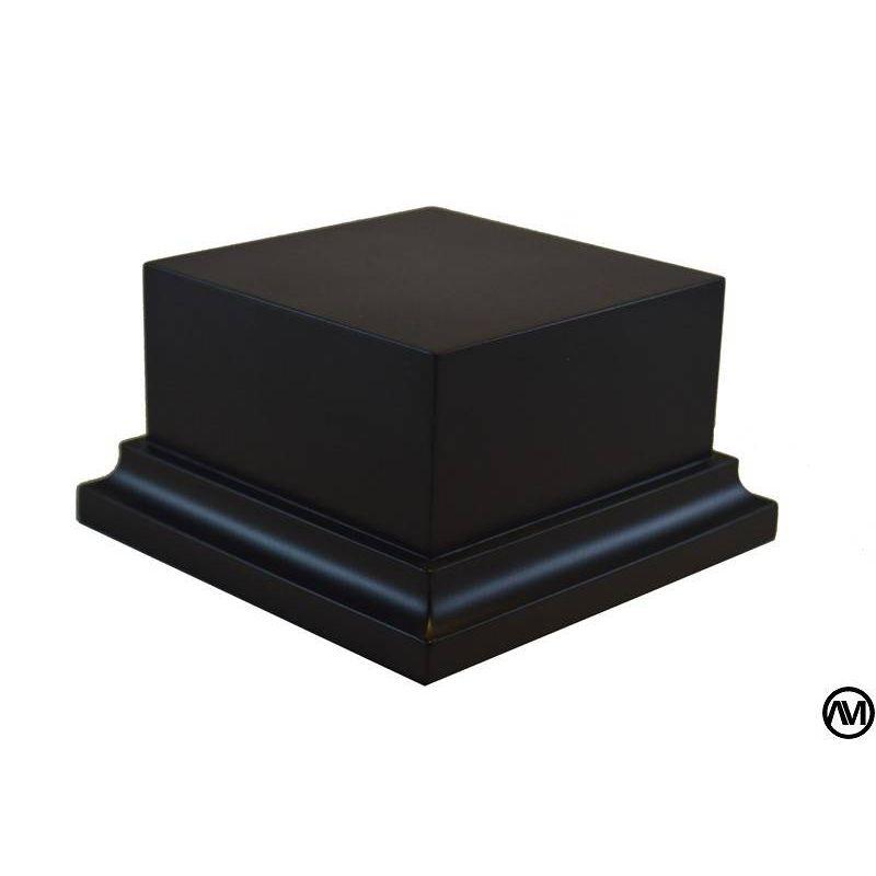 PEANA PEDESTAL DM LACADO - NEGRO 7,5x7,5x5