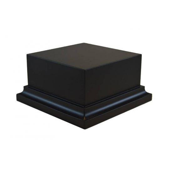 PEANA PEDESTAL DM LACADO - NEGRO 8,5x8,5x5
