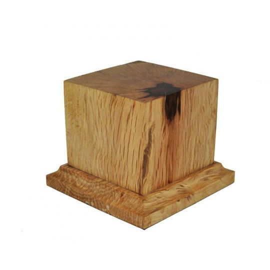 PEANA PEDSTAL MADERA ENCINA 6x6x6,5