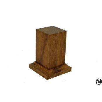 Iroko wood 3x3x6