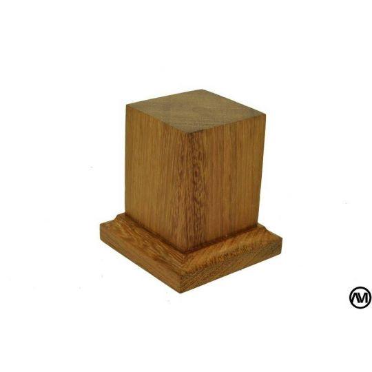 PEANA PEDESTAL MADERA DE IROKO 4x4x6