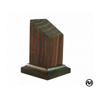 CHERRY WOOD FINISH 3x3x7