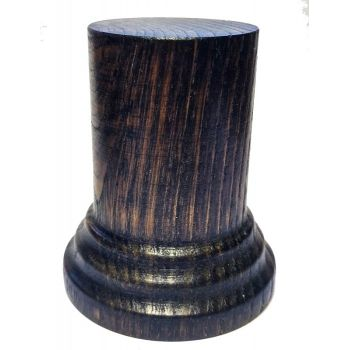 BLACK chestnut wood 3.5 x 6