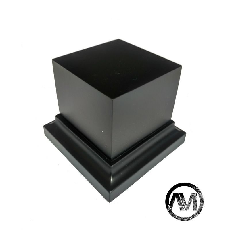 PEANA PEDESTAL DM LACADO - NEGRO 4,5x4,5x5