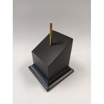 DM Lacado Negro 4x4x6