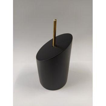 DM Lacado Negro 4,5x7