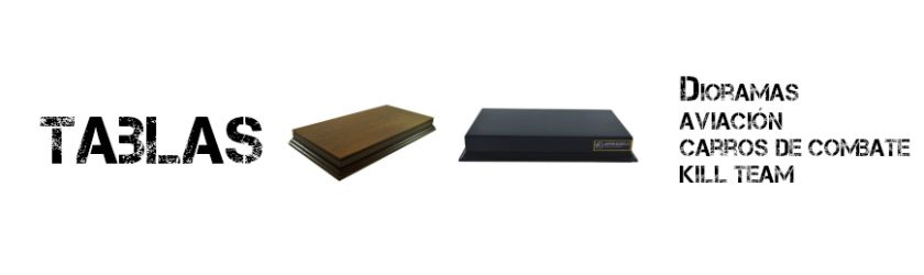 Plinths bases for dioramas, airplanes and battle tanks Arrimodels